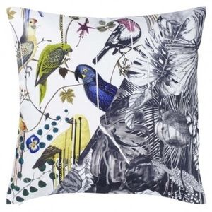 Designer's Guild Jungle Birds Pillow NWT